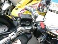 ヤマハ マジェスティC OVERチタンマフラー フロントマスク 最終モデル 2006年 250cc ブラック バイク買取MCG福岡