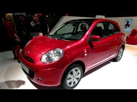Nissan Micra 2013, интерьер и экстерьер (автошоу в Париже 2012)