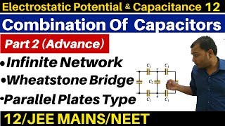 Electrostatic Potential n Capacitance 12 : Combination Of Capacitors -2 Infinite Network & Many more