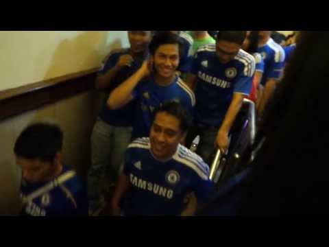 Chelsea Champion UEL 2013 Malaysia Blues Army Part 8