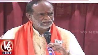TBJP President Laxman Speech At Meet The Press Event, Slams KCR Govt | Hyderabad