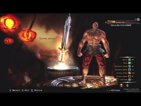 God Of War Ascension Multiplayer Beta Ares Road To Max Level Part1 KG