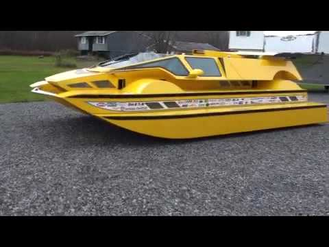 Dobbertin HydroCar - Sponson Demo - Amphibious Vehicle