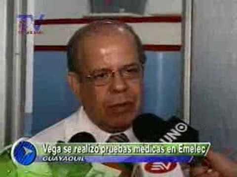 Daniel Vega paso las pruebas médicas