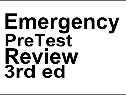 IM07.Emergency Medicine PreTest Self Assessment and Review  3rd ed