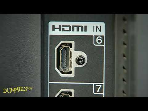 How to Connect an HDTV to Your Sound System or Home Theater For Dummies