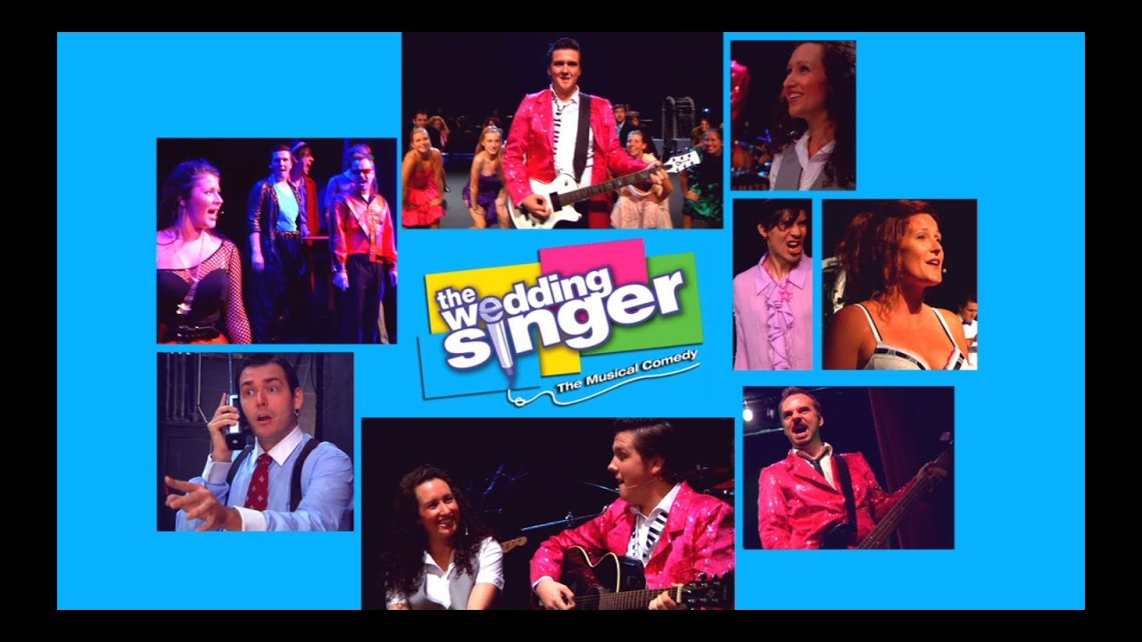 """The Wedding Singer Musical"" Promo - YouTube"
