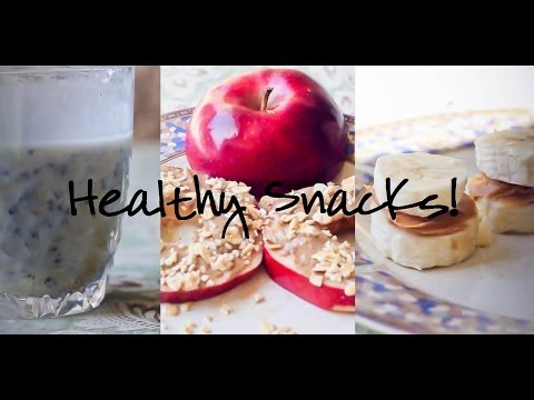 Healthy, Tasty, Easy-to-Prepare Snack Recipes