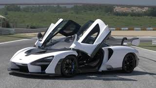White McLaren Senna   Hand Assembled Limited to 500 Units Hypercar 2 2 2