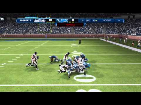 Detroit Lions Madden 13 Franchise - Week 8 vs. Seattle Seahawks - Featuring Russell Wilson