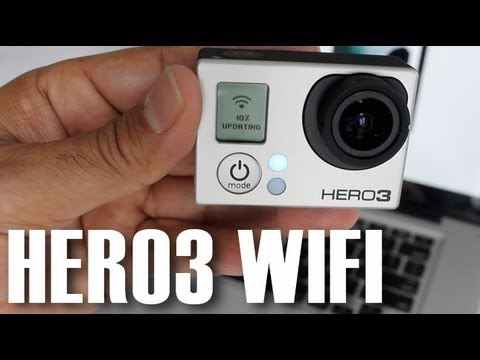 GoPro Hero3 Black Edition WiFi Connectivity & Firmware Update Setup