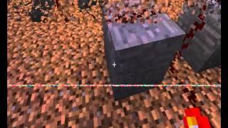 Бесконечный Источник лавы в MineCraft