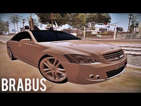 Mercedes-Benz S500 W221 Brabus
