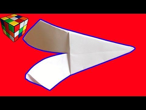 Пропеллер-вертушка! Как сделать вертушку из бумаги! Вертолёт Оригами своими руками!Поделки из бумаги
