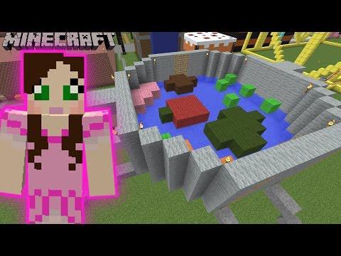 Minecraft: GIANT POT OF STEW GAME - GALAXY WORLD PARK - Custom Map [5]