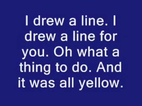 Coldplay - Yellow Lyrics