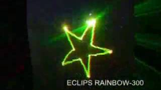 Eclips Rainbow 300 7 Renk Lazer
