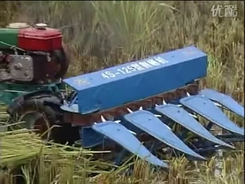 Segadora de 120 cm de trigo, arroz y soya
