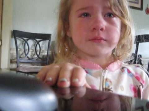 Daddy I miss you( Jada Knerr) 4 year old crying - YouTube