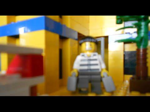 Lego City Bank Robbery