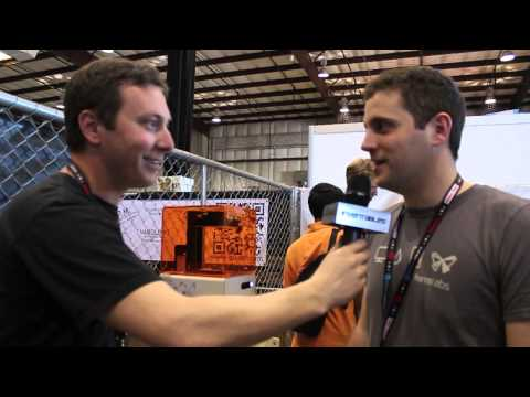 Formlabs - Maker Faire Bay Area 2013 - Inventables On The Road