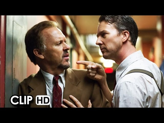 "BIRDMAN Movie Clip - ""Foreign Press"" (2014) - Michael Keaton, Edward Norton HD"
