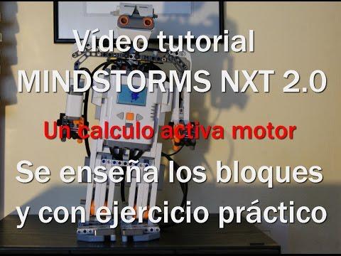 NXT 2.0 Un Calculo Activa Motor  (programming - Programación)