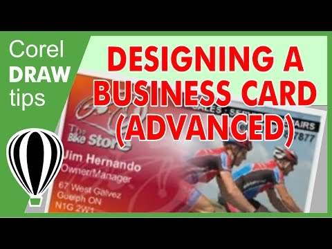 Designing business cards in CorelDraw X4