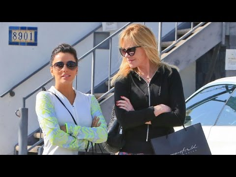 Melanie Griffith And Eva Longoria Go On Shopping Spree Together