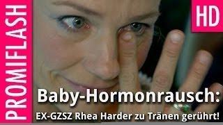Schwangere Ex-GZSZ Rhea Harder: Liebeserklärung unter Tränen
