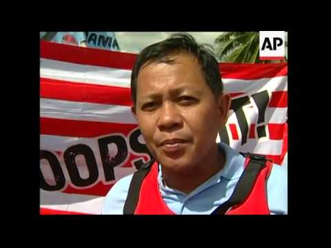 Protests at ASEAN summit