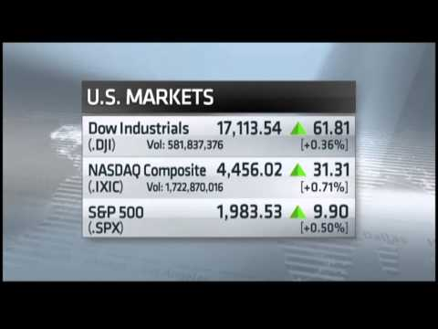 Nightly Business Report: Earnings and positive data lift stocks