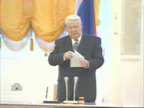 Ельцин валится с ног