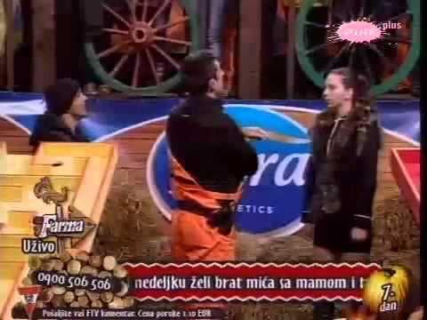 Farma Srbija 3 / 19.09 Izbacivanje / Baki i Sanja - Arena!