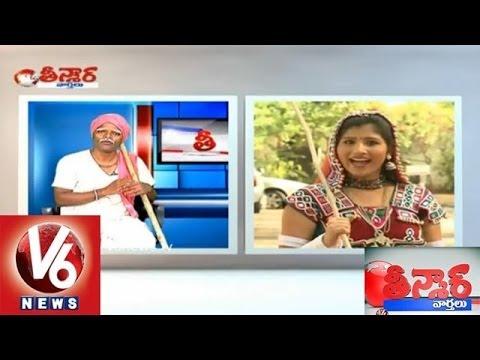 Mangli Comedy With  Teenmar Mallanna video