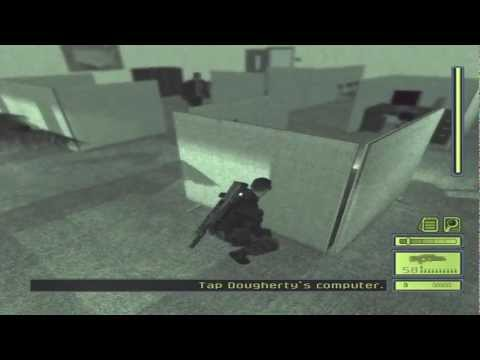 Splinter Cell - Pure Stealth Part 9: CIA HQ (Dougherty)