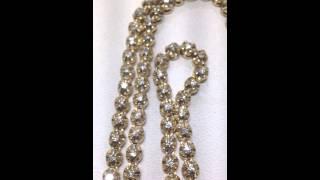 Mr Chris Da Jeweler custom 10k gold 10 pointer diamond chain
