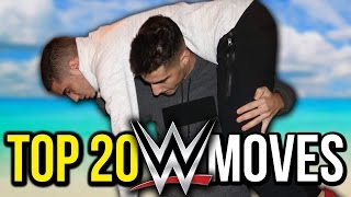 20 Greatest WWE Moves - WWE Top 20