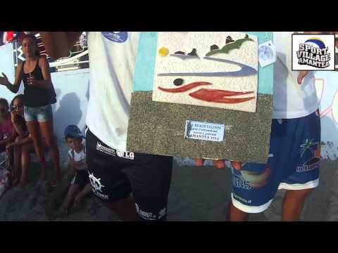 Finale Maschile Tappa Nazionale Under21 Beach Volley 2014- Amantea (CS)
