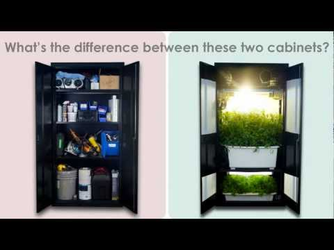 Grow Box - Stealth Grow Box Grow Cabinet