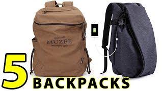 5 Best College Backpacks For Men - 2019 Best Selling backpacks