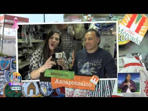 Mercado Azcapotzalco: máquinas de coser, plomería y tortas