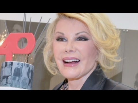 Comedian Joan Rivers dead at 81