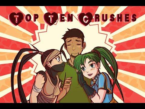 Top Ten Video Game Crushes