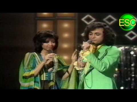 ESC 1972 18 - Netherlands - Sandra & Andres - Als Het Om De Liefde Gaat