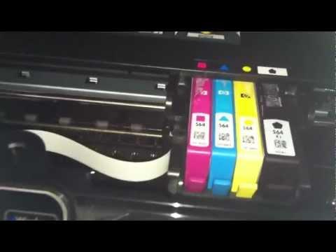 Hp photosmart 5510 won't print black ink