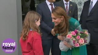 Duke and Duchess of Cambridge Visit Aga Khan Centre in London