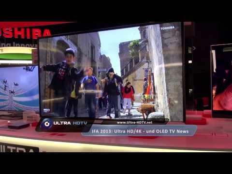 IFA 2013: Toshiba M9/L9-Series Ultra HD TV 4K Fernseher