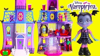 Vampirina Doll House Scare B&B with Glitter LOL Surprise Doll