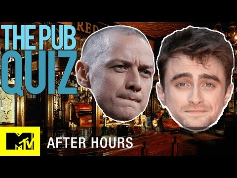 Daniel Radcliffe & James McAvoy's Epic Nerd Trivia Face-Off | MTV After Hours with Josh Horowitz